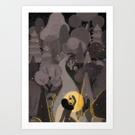 The Light Will Guides You Home Art Print