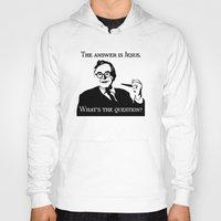 karl Hoodies featuring Karl Barth by Madeline Audrey