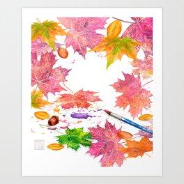 Nature's Artistry Art Print