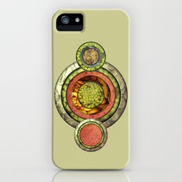Tris Food iPhone Case