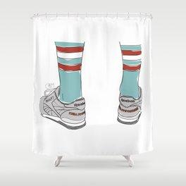 Sneakers Gosha Rubchinskiy Shower Curtain