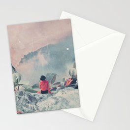 Lost in the 17th Dimension Stationery Cards