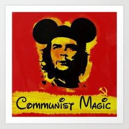 Communist Magic Art Print