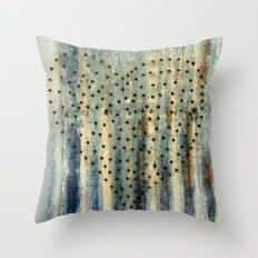 Heart with Holes Throw Pillow