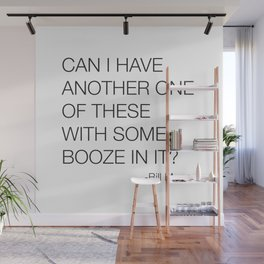 Groundhog Day Bill Murray Quote Wall Mural