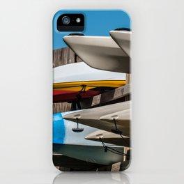 Beach Kayaks iPhone Case