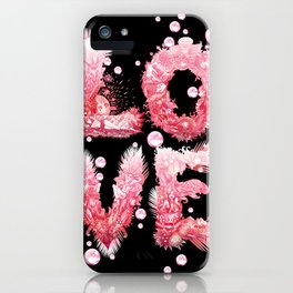 Bubble Love iPhone Case