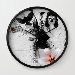 Lolly Crow Wall Clock