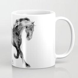 Horse (Friesian Colt) Coffee Mug