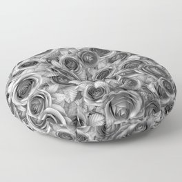 Faded Roses Floor Pillow