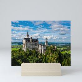 Neuschwanstein Castle - Bavaria - Germany Mini Art Print