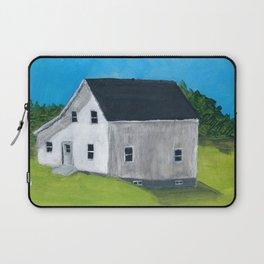 White Farmhouse. Laptop Sleeve