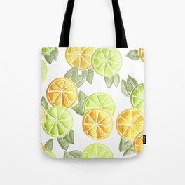 Limes & Lemons Tote Bag