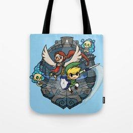 Legend of Zelda Wind Waker Earth Temple T-Shirt Tote Bag