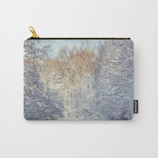 White Blanket Carry-All Pouch