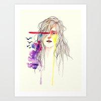 Does freedom make you happy? Art Print