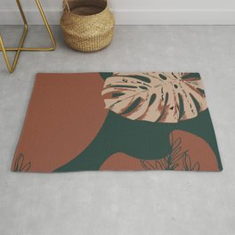 Botanical Tropical Rug