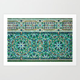 Moroccan Mosaic 2 Art Print