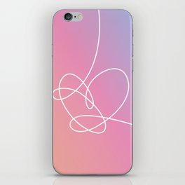 BTS Love Yourself Answer Heart iPhone Skin