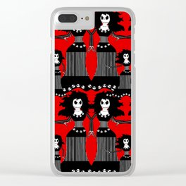 Drag Queen Jack Clear iPhone Case
