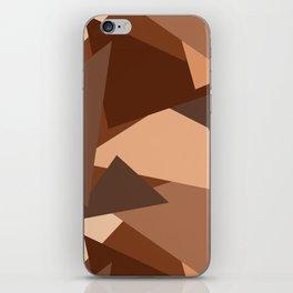 Chocolate Caramels Triangles iPhone Skin