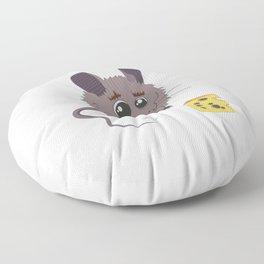 Bettina the Mouse Floor Pillow