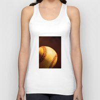 baseball Tank Tops featuring Baseball by Janice Sullivan