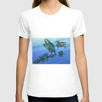 ninja turtles T-shirts featuring Ninja Turtles by MrDenmac