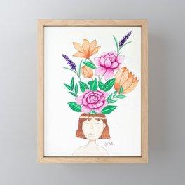 Bloom 1 Framed Mini Art Print