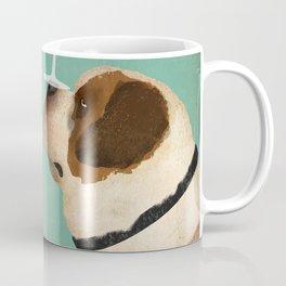 St. Bernard Saint Dog Wine Coffee Mug