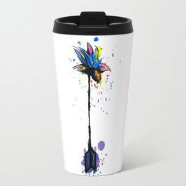 Flowers from Arrows Travel Mug