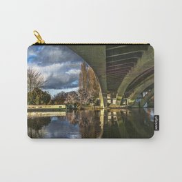 Beneath Reading Bridge Carry-All Pouch