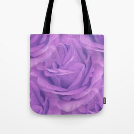 Seamless Purple Rose Vector Tote Bag