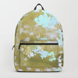 lily pads in th light Backpack