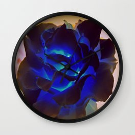 Blue Noon Wall Clock