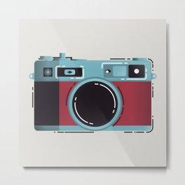 Little Yashica Camera Metal Print