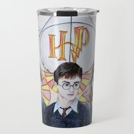 HarryPotter Fanart Travel Mug