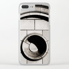 Neoclassical Architectural Detail Abstract in Los Angeles Clear iPhone Case