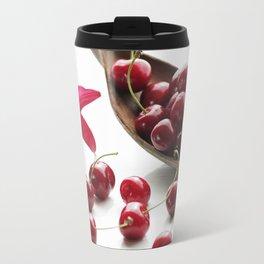 Fresh cherries straight from the tree Travel Mug
