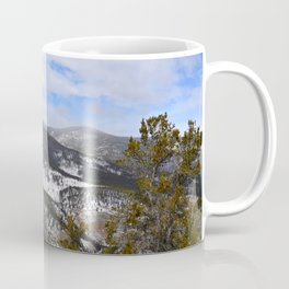 Mountain view from Squaw Pass Road Coffee Mug