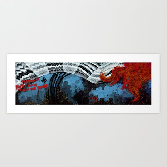 üBERLIN Art Print