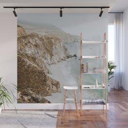 california coast v / big sur Wall Mural