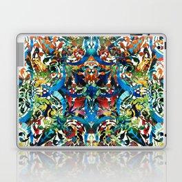 Bold Pattern Art - Color Fusion Design 8 By Sharon Cummings Laptop & iPad Skin