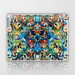 Bold Pattern Art - Color Fusion Design 8 By Sharon Cummings Laptop & iPad Skin