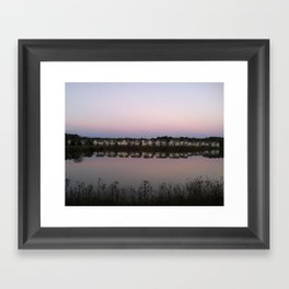 Reflections of Home Framed Art Print