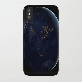 Asia at Night iPhone Case