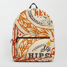 Hipster Style 6th Avenue Backpack