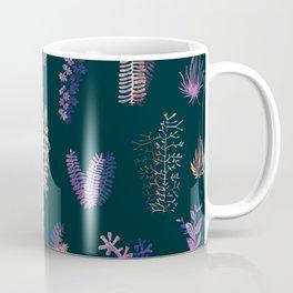 Violet Garden at Night Coffee Mug
