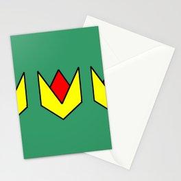 Couleurs imaginaires :Drapeau de Trifouillis les oies. Stationery Cards
