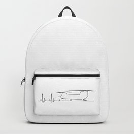CH-47 Helicopter Heartbeat Pulse Backpack